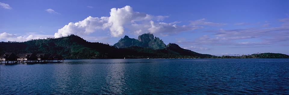 Bora Bora Private Island View